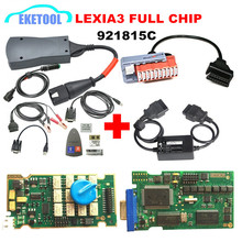 Newest Diagbox 7.83 Lexia3 A+Quality Full Chips 12pcs Relay 7pcs Optocouplers FW 921815C Lexia 3 PP2000 +PSA 30PIN+S.1279 Moduel(China)