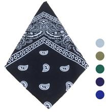Women flower Bandana Square Head Scarf Cotton women Bandanas Headwear boy girl turban lenco feminino neckerchief shawl muffler(China)