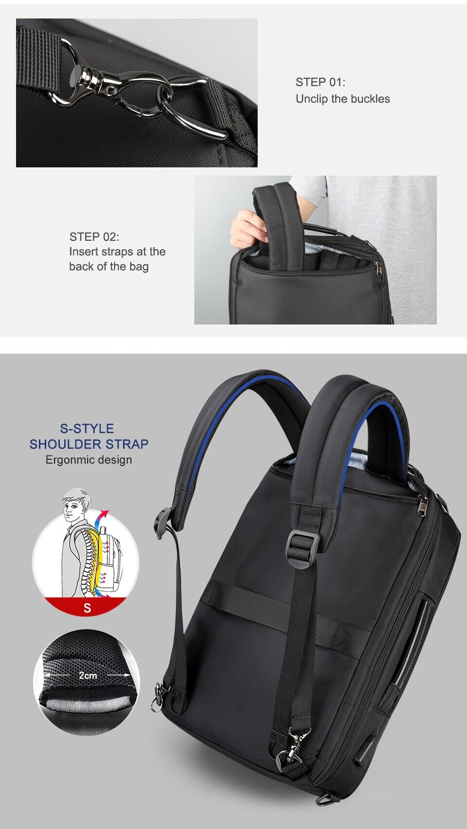 13.men business backpack