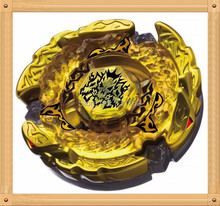 1pcs Beyblade Metal Fusion 4D set BEYBLADE METAL FUSION BB-99 GOLD HELL HADES KERBECS BD145DS+LAUNCHER Children Gift kids toys(China)