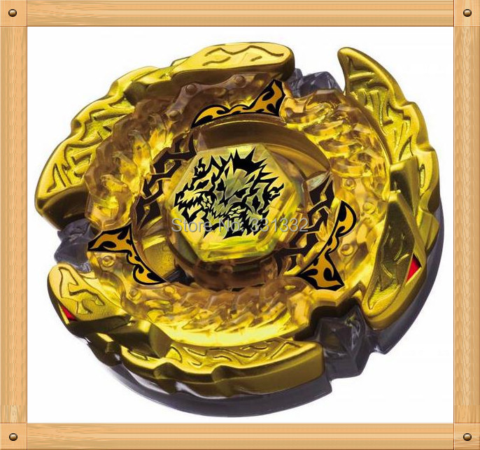 1pcs Beyblade Metal Fusion 4D set BEYBLADE METAL FUSION BB-99 GOLD HELL HADES KERBECS BD145DS+LAUNCHER Children Gift kids toys(China (Mainland))