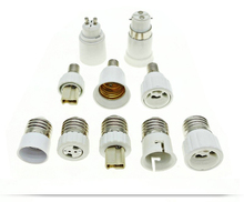 Lamp Holder Converters GU10 / G4 / G9 / MR16 / B22 / E14 to E27, E27 / GU10 / G9 to E14 Lamp Base(China)