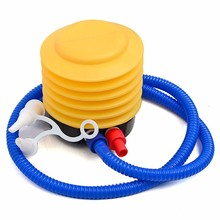 Portable Foot Air Pump Mini Plastic Inflator for Party Balloon Swimming Ring Toys Balloon Yoga Ball Inflatable Boat Toy Inflator