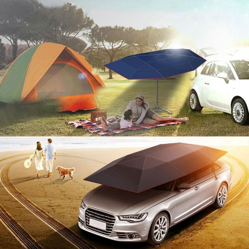 High Quality Car Tent Umbrella Sunshade Roof Cover Portable Semi ...