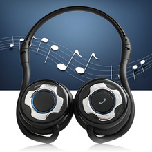 Vococal Foldable Wireless Bluetooth 2.0 Stereo Headset Headphone Headsfree Earphone for iPhone 6 6S plus 5S Samsung S5 S6