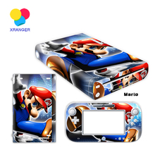 Vinyl Skin Sticker Protector For Nintendo Wii U For Wii U and Controller Skins Stickers For WiiU Decal Protector For WiiU Vinyl