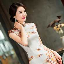2017 Real Abendkleider Special Offer Slim Short Sleeved Summer Cheongsam From 1 Batches Of Manufacturers Selling One Generation