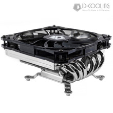 ID-COOLING IS-60v2 TDP 130W Low Profile/Slim ITX/HTPC System CPU Cooler With 6 Heatpipes, 120mm Fan, Compatible with Intel & AMD(China)