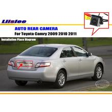 Liislee Car Rear View Camera Reverse Camera / For Toyota Camry 2009 2010 2011 / HD CCD RCA NTST PAL / Reverse Hole OEM(China)