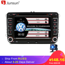 "Junsun 2 din 7"" Car DVD radio player For Skoda/Fabia/Praktic/Roomster/Octavia/Yeti audio car stereo FM GPS Navigation Radio(China)"