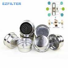 Tourmaline Energy Nano Alkaline Water Cup Filter Core/Hydrogen Negative Ion Water Ionizer Replacement Filter Core(China)