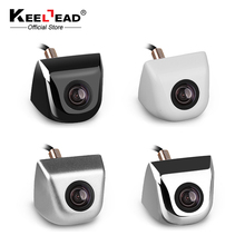 KEELEAD Car Reverse Backup Parking Camera Metal body Car Rearview Camera Car Park Monitor 170 Degree Mini Car Rear View Camera(China)