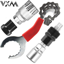 VXM Bicycle Repair Tool Kits Bicycle Chain Removel/Bracket Remover/Freewheel Remover /Crank Puller Remover MTB Bike Repair Tools(China)