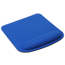 Rectangle Wrist Support Cloth + EVA Mouse Pad Mice Mat For Compute blue 210*230*20mm(China)