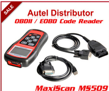 Autel MaxiScan MS509 OBDII / EOBD Auto Code Reader work for US, Asian & European cars MS 509 car code scanner(China)