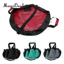 MagiDeal Waterproof Wetsuit Change Mat Wetsuit Change Pad Carrying Bag&Handle Straps for Surfing Swimming Kayak Water Sport Acce