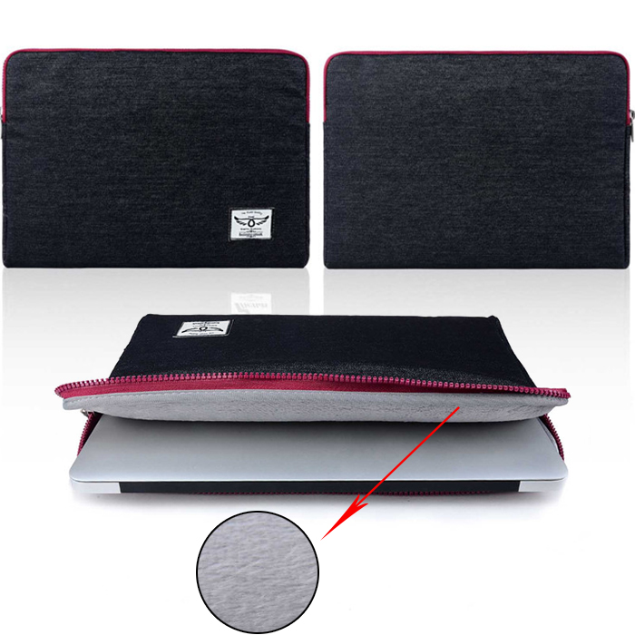 business style black jean Sleeve Bag Case for macbook 11 12 13 Messenger Ultrabook laptop Notebook Computer Bag for men women<br><br>Aliexpress