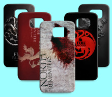 Ice and Fire Cover Relief Shell For Samsung Galaxy S6 G9200 Cool Game of Thrones Phone Cases For Galaxy S6 edge plus(China)