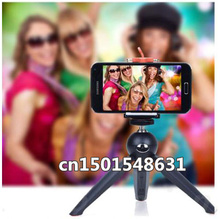 New Original 228 Mini Tripod + Phone Holder Clip Desktop For SLR / Digital Camera for iphone 6,5 for samsung(China)