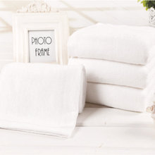 35*75cm 4pcs Hotel White Cotton Terry Hand Towels Set,Plain Cheap Quality Face Bathroom Hand Towels Set,Juego de Toallas,T070