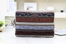 "11""12""13""14""15""15.6"" inch Laptop Sleeve Case for Macbook Dell Acer Lenovo Notebook Computer Cover Bag Bohemian Style"