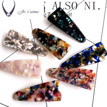 French Elegance Acetate Sheets Hair Accessories Flower Hair Pins For Women Butterfly Hair Clips Handmade Hair Bows(China)