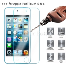 2.5D 0.26mm 9H Premium Tempered Glass For Apple iPod Touch 5 6 Screen Protector Toughened protective film For iPod Touch 6 *