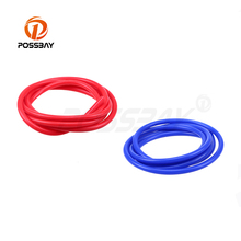 POSSBAY Universal Car Vacuum Silicone Hose 2 M 3mm/4mm/6mm/7mm Vacuum Tube Pipe Line For Water Oil Vacuum Transport Pipe Line(China)