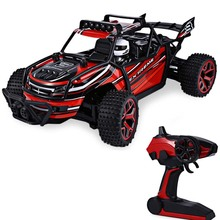 High Speed RC Car 1 : 18 2.4G 4 Wheel Drive Big Foot Speed Buggy RC Car Model Off-Road Vehicle Toy Radio Control Cars Kids Gifts