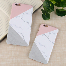 FLOVEME For iPhone X iPhone 5S 5 SE Case Ultra Thin Marble Wood Patterned Phone Bag Cases For iPhone 7 6 6S Plus Funda Accessory(China)