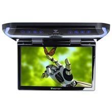 "11.6""  Digital In-car Flip Down Car Roof Monitor Roof Mounted Monitor (Metal Gray & Beige Color Optional) with HDMI Input"