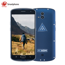 Original AGM X1 5.5 Inch Smartphone Android 5.1 MSM8952 Octa Core Mobile Phone 4GB RAM 64GB ROM 5400mAH Fingerprint Cell Phone