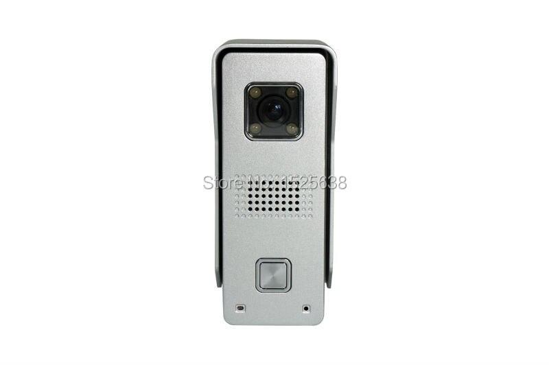 aluminum alloy waterproof  New Intelligent Video Doorphone  Video Intercom Doorbell entrance machine HD camera <br><br>Aliexpress