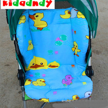 kidadndy Stroller Accessories Pure Cotton Baby Strollers Yellow Duck Pads Thickening Cart Pads Eat Chair Cushion TCLY9014