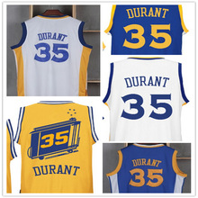 2016 new High Quality Mens #35 Kevin Durant Jersey Stitched Wholesale Basketball Jersey Free shipping