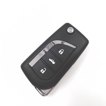 Good Quality 315MHz  Without chip 3 buttons Remote Car Key For Toyota Vios Corolla Before 2013