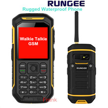 Original Rungee X6 IP68 Waterproof Rugged Phone with Walkie Talkie Function GSM Mobile Phone Dual SIM card dual standby x1