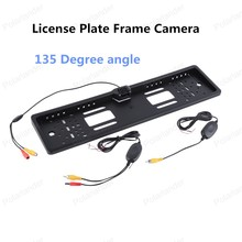 best selling Car Licence Plate Frame Backup Rear View 135 Degree Camera CMOS 1030 imaging sensor
