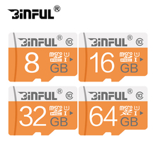 Hot Sale Large capacity 8gb 16gb 32gb 64gb Class 10 Micro SD card TF card Flash Memory Card For Mobile Series SDHC SD card(China)