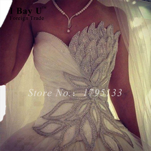 Victorian Gothic Wedding Dress Sunflower Crystal Wedding Dresses Pearl Korean Wedding Dress Victorian Style Bling Bridal Gowns