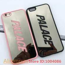 Luxury Palace sliver mirror case for iphone 6 6s chrome back cover carcasa capa coque fundas for iphone 6 6s cases