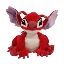 Lilo and Stitch Toy Experiment 628 Leroy Red Alien Plush Toy 30cm 12'' Cute Stuffed Animals Soft Toys for Children Kids Gifts(China)