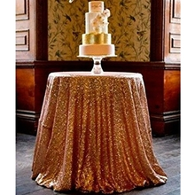 90 Round Rose Gold Sequin TableCloth round tablecloth rose gold tablecloth rose gold sequin tablecloth