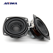 Aiyunid IMA 2 PC 2,5 pulgadas altavoces de Audio 4Ohm 10 W 66mm altavoz de gama completa bajo altavoces Multimedia imán de neodimio(China)
