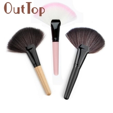 GRACEFUL Makeup Fan Blush Face Powder Foundation Cosmetic Brush Por ejemplo  SEPT9