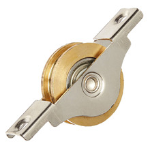 "Promotion! 1.3"" Dia Single Roller Double Bearing Window Sash Pulley Wheel"