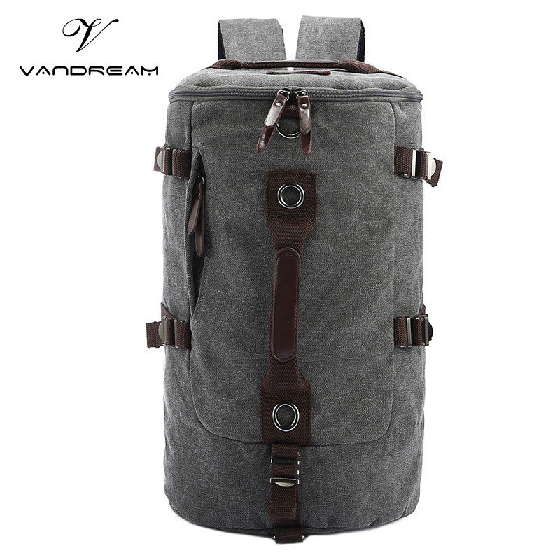 Travel Totes Large Capacity Unisex Men &amp; Women Backpack New Brand Canvas Weekend Laptop School Bag Multifunctional Shoulder Bags<br>