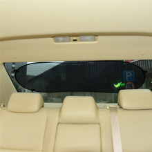 1pc 100cm*50cm Black car Rear Window Sunshade Cover Side Car Sun Shade Mesh Visor Shield Screen