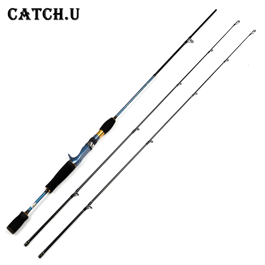 1.8M 2 Tips MH/ML 4-28g/18-50g Lure Weight Carbon Fiber Travel Casting Lure Fishing Rod<br>