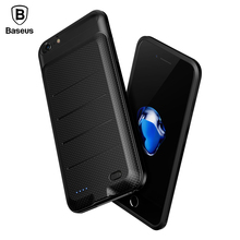 Baseus Battery Case For iPhone 6 6s Plus Powerbank Charger Case For iPhone 6s Battery Charging Case Mobile Phone Power Bank Case(China)